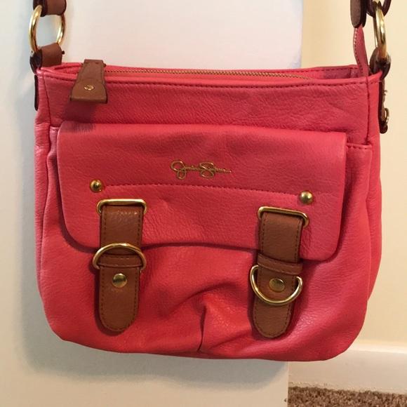 ee17367f11ae Jessica Simpson Handbags - Pink Jessica Simpson Crossbody Bag